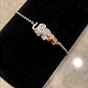 Jewelry - Mother/Daughter Special Bond Elephants Bracelet.